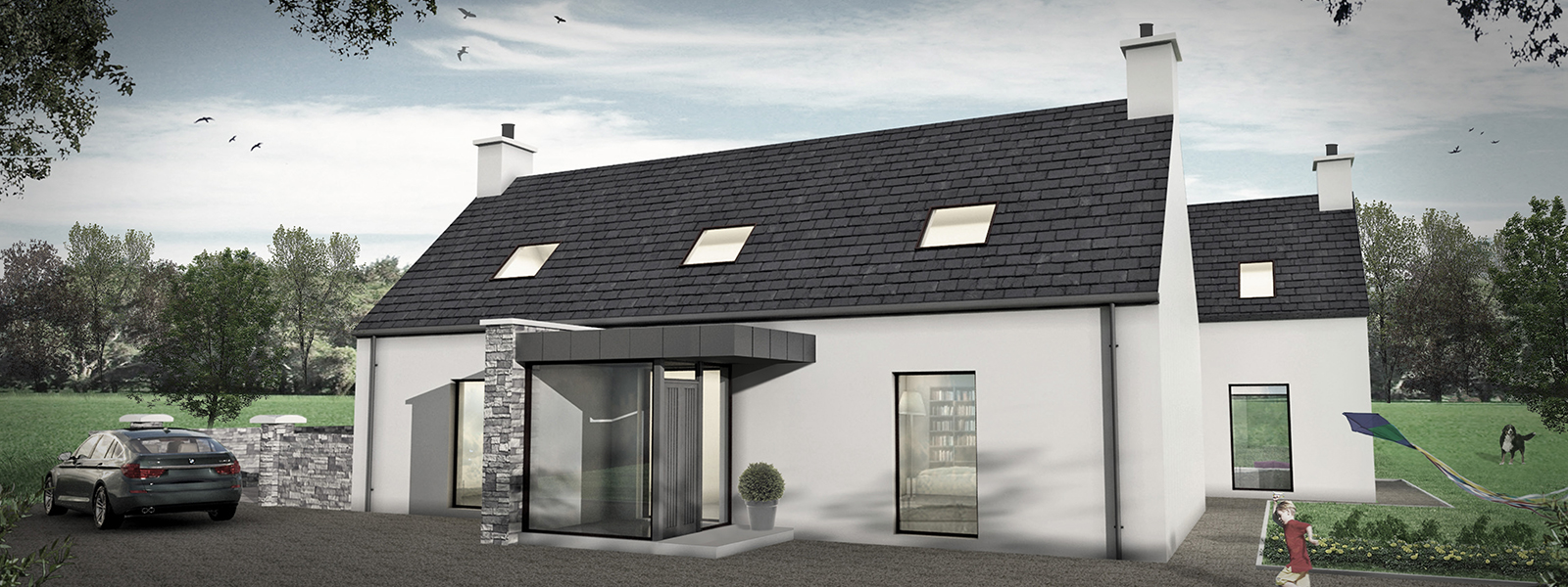 Rural house plans ireland escortsea for Irish house plans